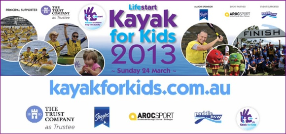 Lifestart Kayak for Kids - 24 March 2013 - Paddling for the Kiddies!