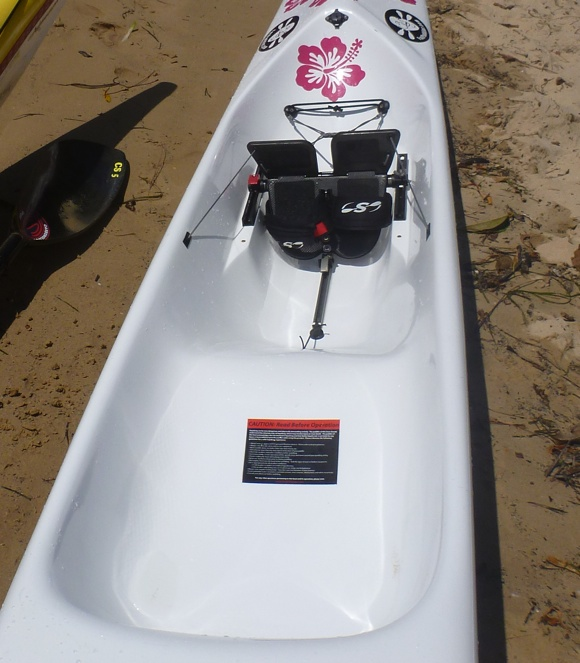 The big big bucket of the Stellar SR surfski