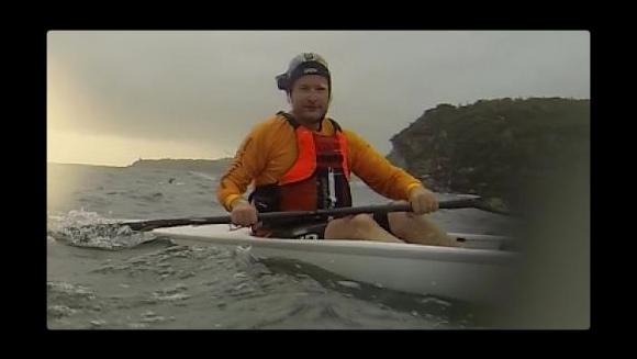 Some strange, helmet-cam wearing visitor from Adelaide...