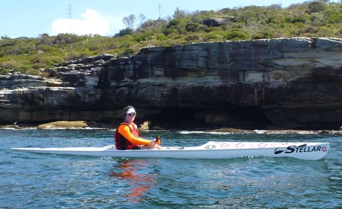 Don Kiesling enjoys Sydney Harbour
