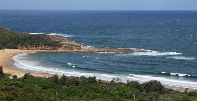 The fun right-hander of Killcare, NSW Central Coast