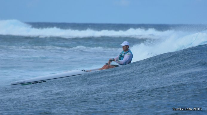 Hank McGregor showing how to do Le Morne (Img credit: Rob Mousley)