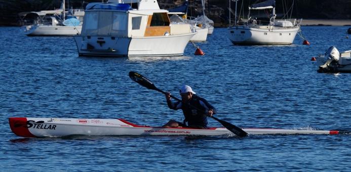 Team Stellar surfski paddler Matt O'Garey