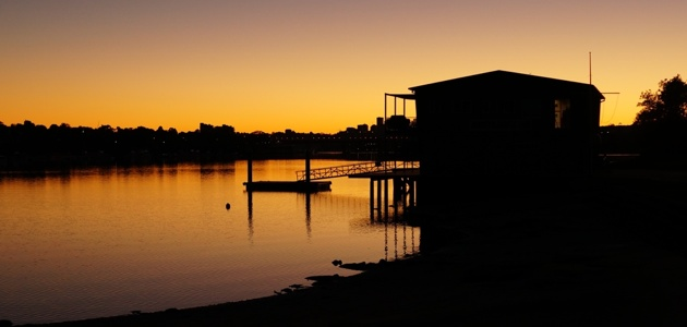 Rodd Point sunrise, Sydney Australia