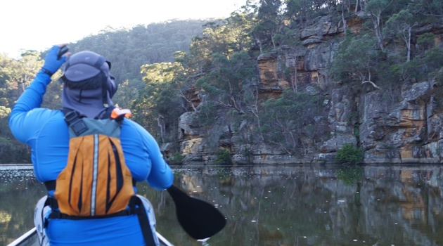 Kuringai National Park by canoe