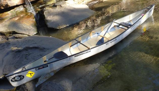 Wenonah Minnesota II at rest - Scotts Creek NSW Australia