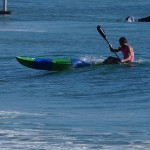 Spec Ski Paddling - Manly Beach