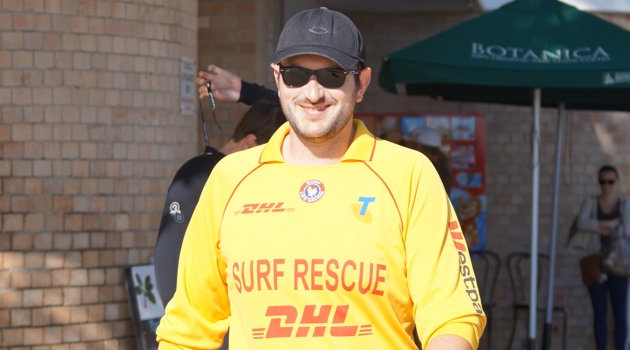 Surf Lifesaver Freddie ready for patrol