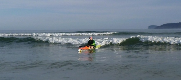 Testing the Hayden Fat Boy at Ocean Beach