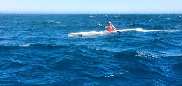 Fenn Nelo Doctor Ocean Race Jan 2014 (Pic courtesy OceanPaddler.com)