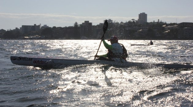 FP powering into Manly for the finish