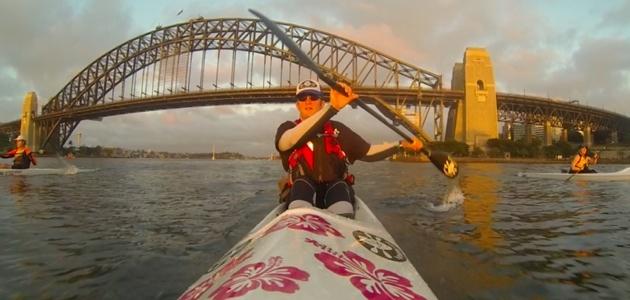 Sydney Harbour Bridge - an iconic landmark over some interesting water