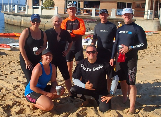 Team Fat Paddler - competitors sometimes, but friends all the time