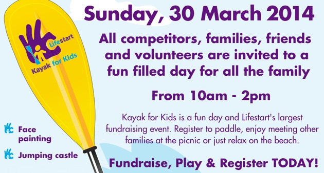 The Lifestart Kayak for Kids is not just a paddling event, it's a great family day as well