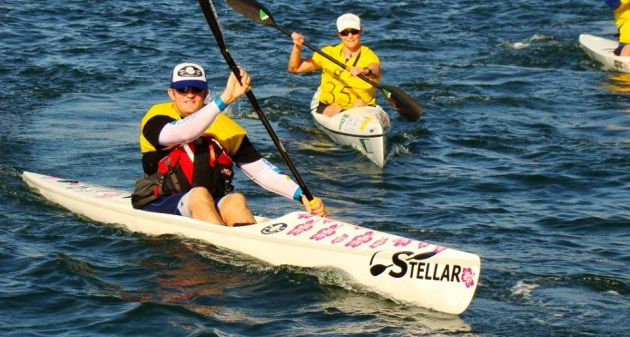 Fat Paddler in the 2014 Lifestart Kayak for Kids