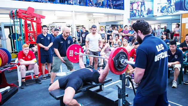 Powerlifting at PTC Sydney