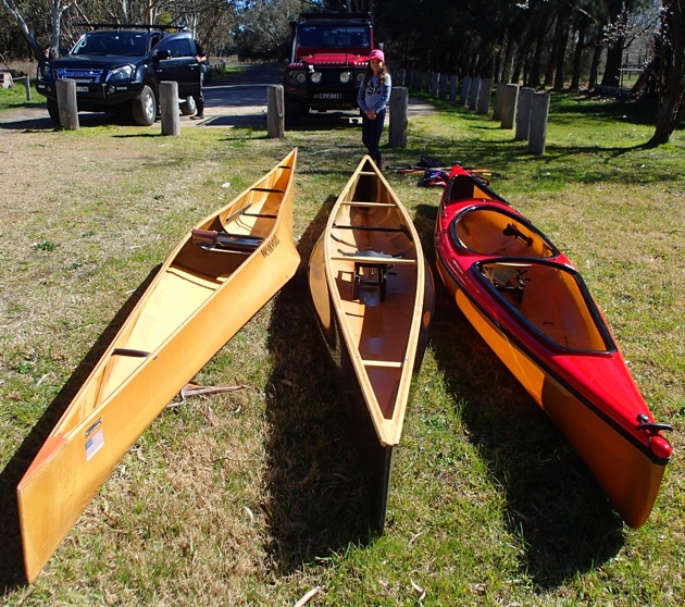 Solo Canoe Trials with Paddle and Portage Canoes