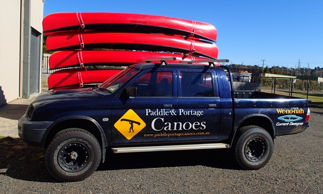 Paddle and Portage Canoes in Moss Vale NSW, Aussie distributors of Wenonah Canoes