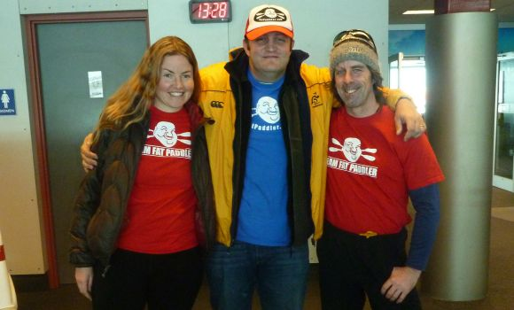 Helen Wilson, FP and Joe O'Blenis... Thunder Bay, Canada
