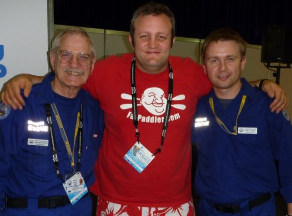The lads from NSW Marine Rescue - great work fellas!