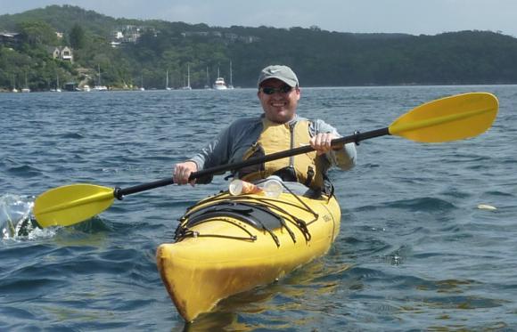 Grumm with euro paddle
