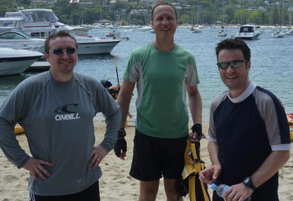 Team Fat Paddler - Grumm, @BigYahu, @SachaWard