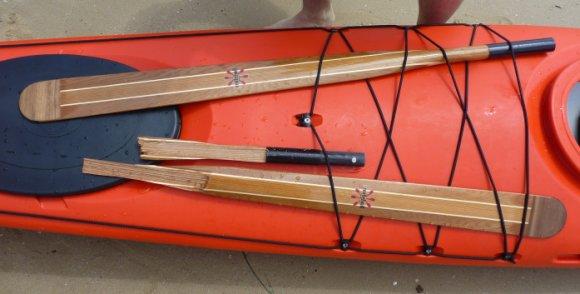 Smashed paddle - bugger!