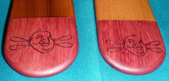 Pimped paddle tips!