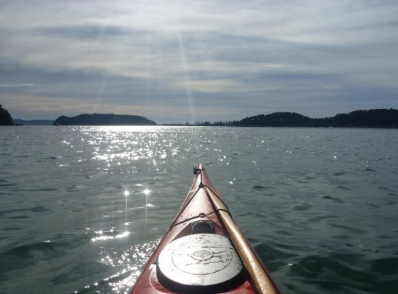 Pittwater - a magnificent place to paddle