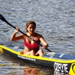 OZFlyte / SHK Team Paddler Amy Nurthen from Terrigal
