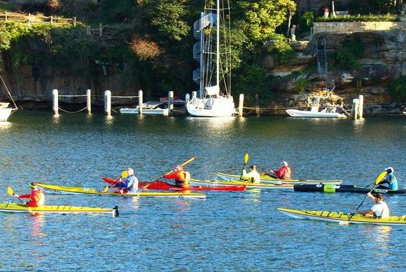 The FP Paddle Gang... that's how we roll, baby!