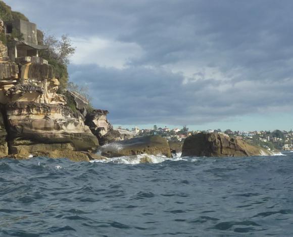 Lumpy good times on Sydney Harbour