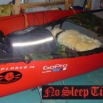 The TFP Canoe rigged for the Classic - shagadelic babee!