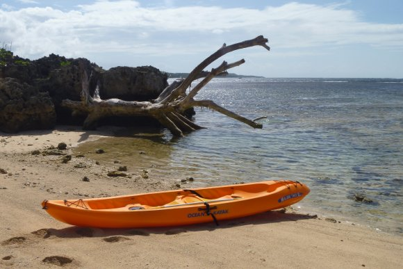 My kayak for the day - the Malibu 2XL. Made quite a reasonable single kayak!