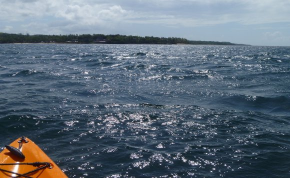 Off the reef and back into open waters