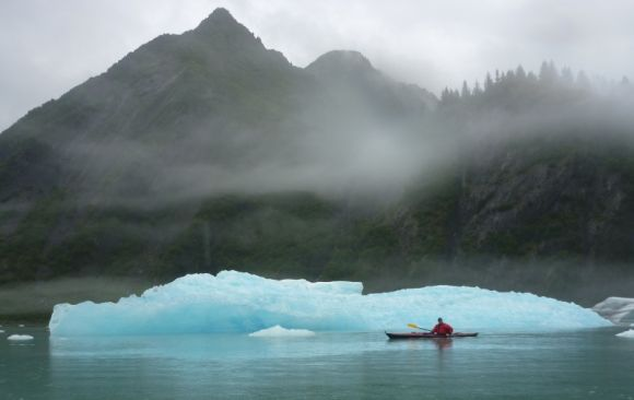 A trip to the other side of the world - glacier fields of Alaska