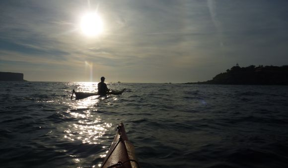 Early morning paddles by Sydney's Heads