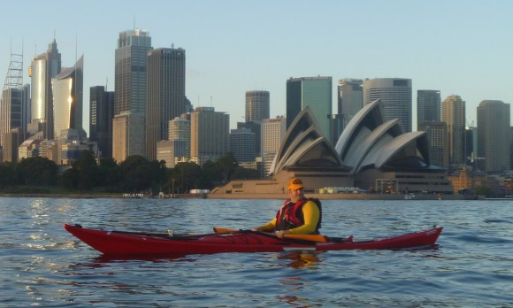 Fat Paddler's turn to get in the way of the camera. He's such a media whore!