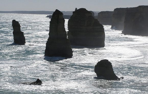 That's not a castle, THIS is a castle! South coast of Australia (Flickr credit: fritzmb)