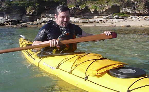 That is the face of one very happy paddler
