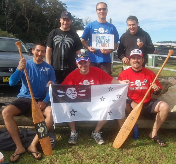Team Fat Paddler does Paddle for the Planet and a farewell to Gelo
