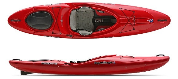 The Liquidlogic Remix XP10 - a hybrid kayak with a whitewater pedigree