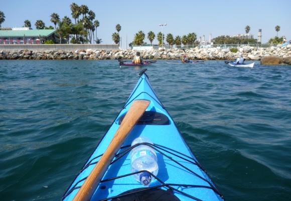Back to the Redondo Beach marina under the hot LA sun.