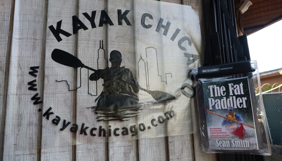 """A return to Kayak Chicago, the setting for Chapter 10 in my book """"The Fat Paddler"""""""