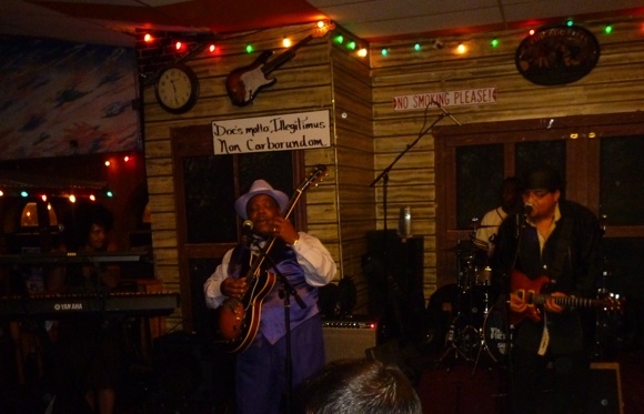 A Chicago blues and nightlife institution - Kingston Mines (main room)
