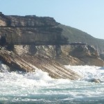 Ocean Whitewater - where surf and swell hits the land, there shall be froth!