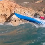 A Neptune Ranger breaking the wave barrier on the Californian Coast
