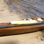 The F1 Skin on Frame kayak - amazingly nimble and fast for such an ugly boat!