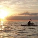 Adventourist Frieddie gets his first taste of sunrise paddling