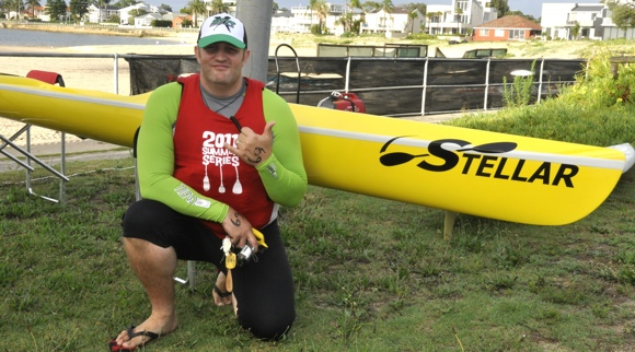A rapidly-shrinking Fat Paddler (pic courtesy Alex Francois)